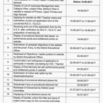 TS Teachers Transfers web option Instructions/ web counselling dates/ Online Web Options Guidelines