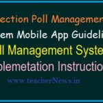 Election Poll Management System Mobile App Guidelines |  Implementing Poll Management System