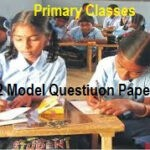 FA 2/ Formative 2 CCE Question Papers 2019 - 1st, 2nd, 3rd, 4th, 5th Class Formative II for Primary School