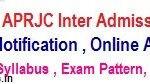APRJC 2020 Syllabus  APRJC Exam Pattern   APRJC Model Question Papers at aprjdc.apcfss.in