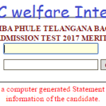 TS BC Welfare #Inter Degree Results 2020 District Wise #Selection list MJPTBCWREIS Telangana