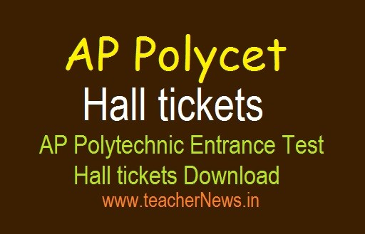 AP POLYCET Hall Ticket 2020 (Available)   AP Polytechnic Hall Ticket Download @ polycetap.nic.in